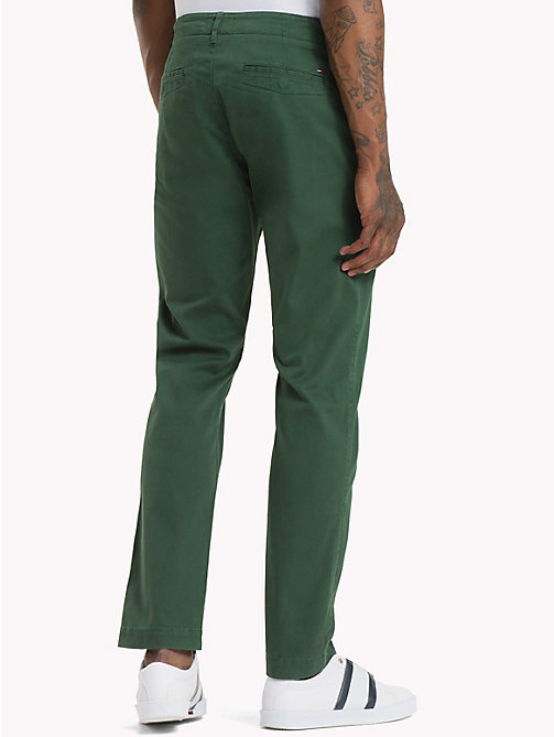 TOMMY JEANS Slim fit chino - HUNTER GREEN - TOMMY JEANS Broeken & Korte broeken - detail image 1
