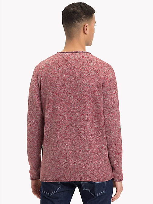 TOMMY JEANS Essential Relaxed Fit Jumper - SAMBA - TOMMY JEANS Knitwear - detail image 1