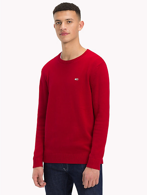 TOMMY JEANS Tommy Classics Knitted Jumper - SAMBA - TOMMY JEANS Tommy Classics - main image