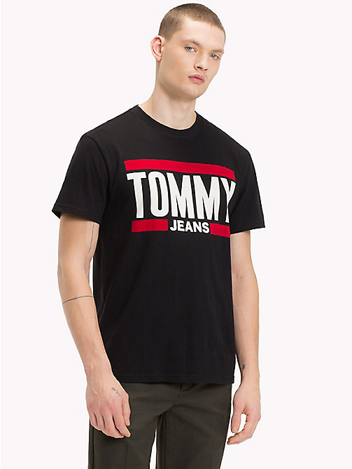 TOMMY JEANS T-Shirt mit Tommy Jeans-Logo - TOMMY BLACK - TOMMY JEANS T-Shirts & Poloshirts - main image