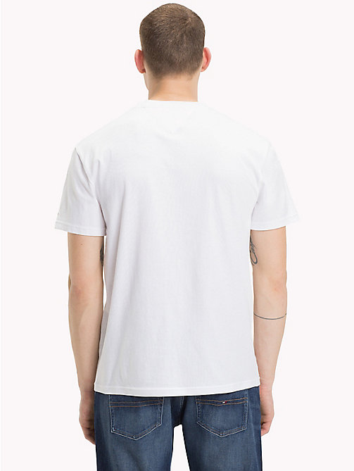 TOMMY JEANS Tommy Jeans Logo T-Shirt - CLASSIC WHITE - TOMMY JEANS T-Shirts & Polos - detail image 1