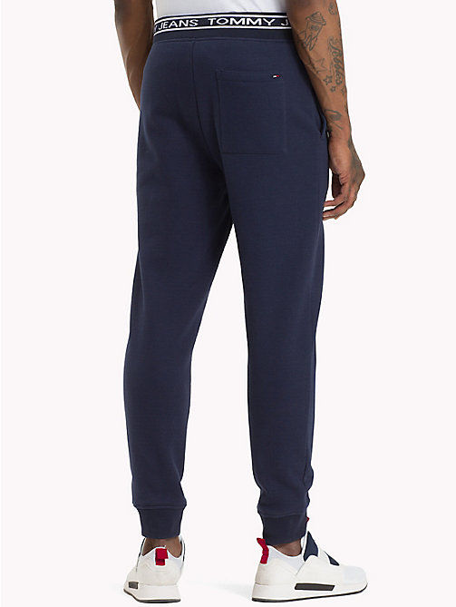 TOMMY JEANS Logo Waistband Joggers - BLACK IRIS - TOMMY JEANS Black Friday Men - detail image 1