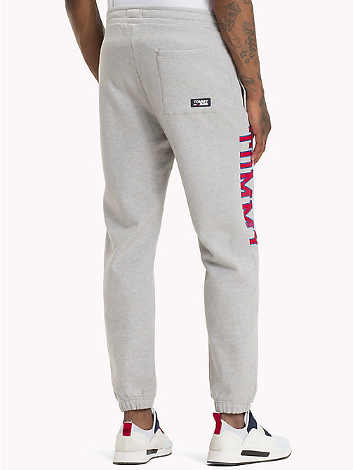 TOMMY JEANS Essential College Joggers - LT GREY HTR - TOMMY JEANS Trousers & Shorts - detail image 1