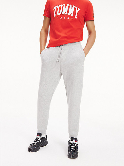 TOMMY JEANS Tommy Classics joggingbroek - LT GREY HTR - TOMMY JEANS Trainingspak - main image