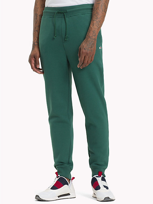 TOMMY JEANS Tommy Classics joggingbroek - HUNTER GREEN - TOMMY JEANS Trainingspak - main image