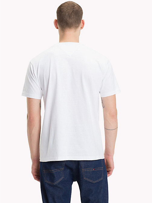 TOMMY JEANS Circle Logo T-Shirt - CLASSIC WHITE - TOMMY JEANS T-Shirts & Polos - detail image 1