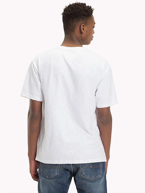 TOMMY JEANS T-Shirt mit Tommy Jeans-Logo - CLASSIC WHITE - TOMMY JEANS T-Shirts & Poloshirts - main image 1