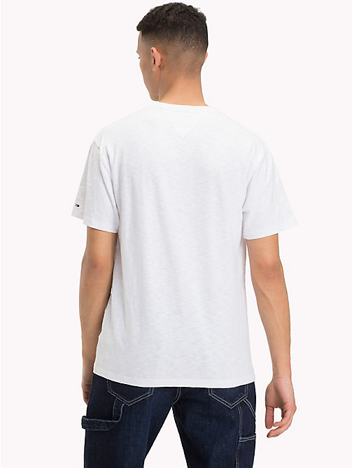 TOMMY JEANS T-Shirt mit Baseball-Logo - CLASSIC WHITE - TOMMY JEANS T-Shirts & Poloshirts - main image 1