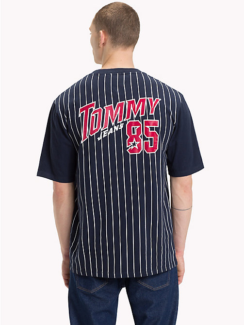 TOMMY JEANS Baseball-T-Shirt - BLACK IRIS - TOMMY JEANS T-Shirts & Poloshirts - main image 1