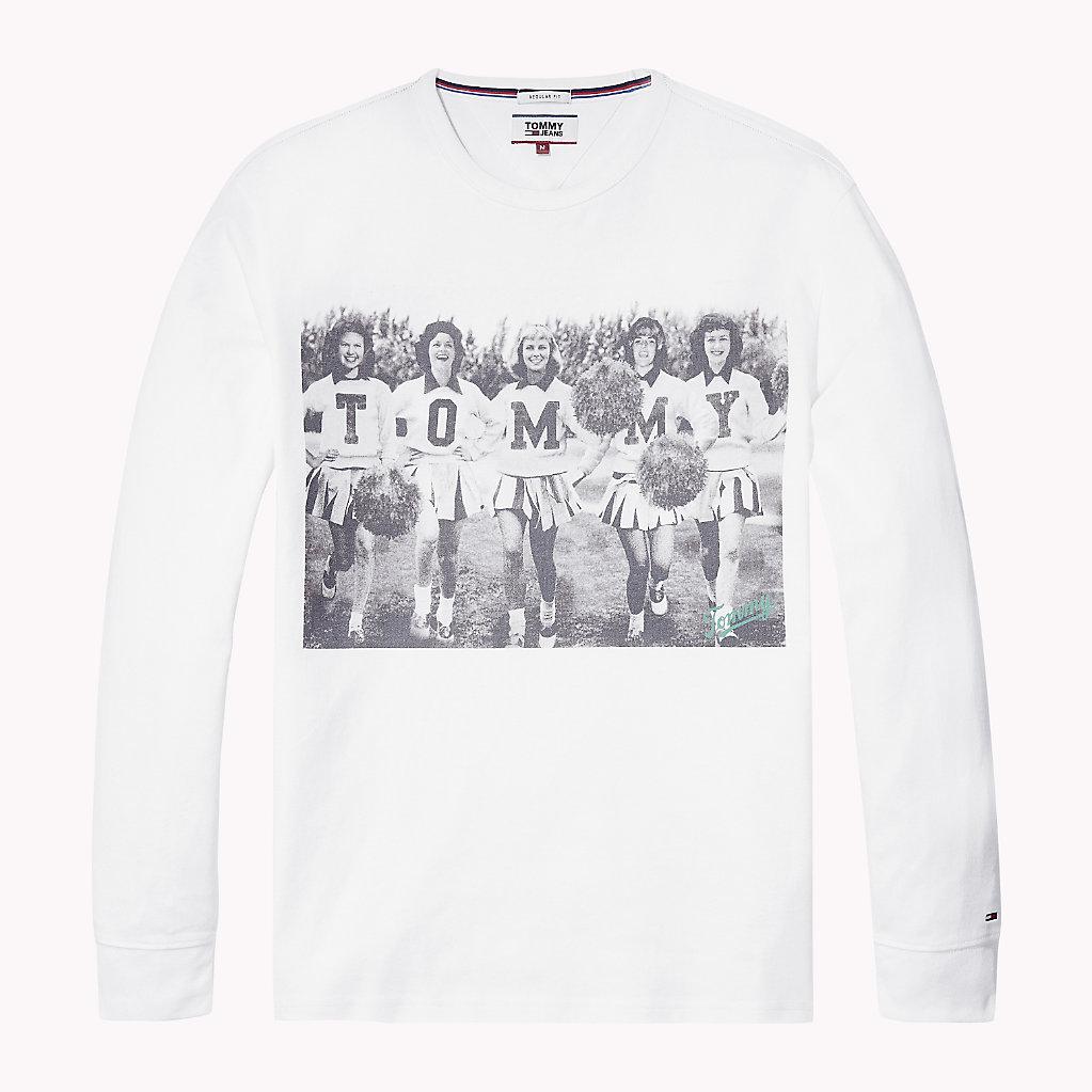 Tommy Hilfiger - Camiseta de manga larga en algodón - 4