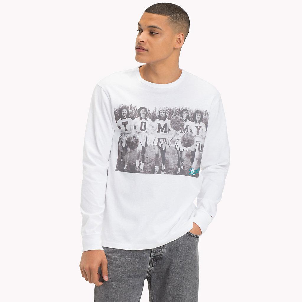 Tommy Hilfiger - Camiseta de manga larga en algodón - 1