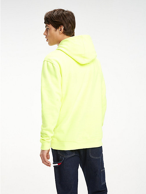 TOMMY JEANS Tommy Jeans Logo Hoody - SAFETY YELLOW - TOMMY JEANS Sweatshirts & Hoodies - detail image 1
