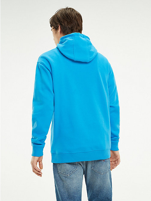 TOMMY JEANS Худи с логотипом - BRILLIANT BLUE - TOMMY JEANS Свитшоты и худи - подробное изображение 1