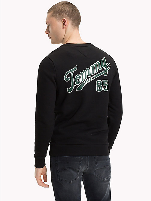 TOMMY JEANS Back Logo Crew Neck Sweatshirt - TOMMY BLACK - TOMMY JEANS Sweatshirts & Hoodies - detail image 1