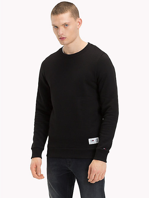 TOMMY JEANS Back Logo Crew Neck Sweatshirt - TOMMY BLACK - TOMMY JEANS Sweatshirts & Hoodies - main image