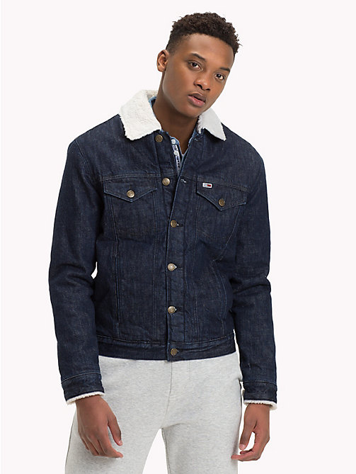 TOMMY JEANS Fleece-Lined Denim Jacket - TOMMY CLASSICS BL RIGID - TOMMY JEANS Coats & Jackets - main image