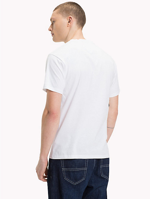 TOMMY JEANS Photo Print T-Shirt - CLASSIC WHITE - TOMMY JEANS T-Shirts & Polos - detail image 1