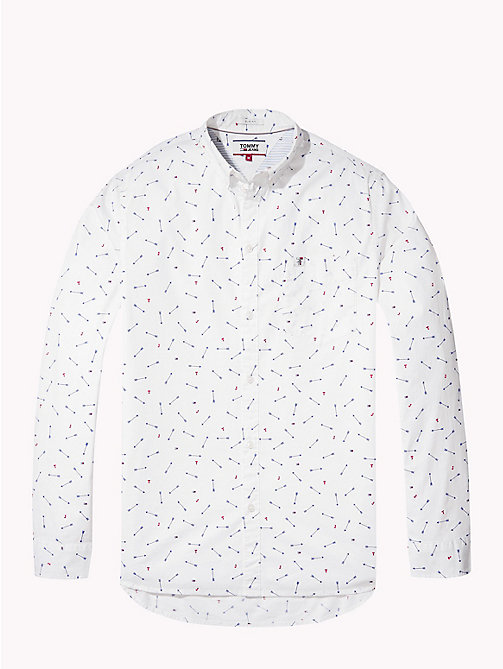 TOMMY JEANS Micro Print Regular Fit Shirt - ARROW DITSY - TOMMY JEANS Shirts - detail image 1