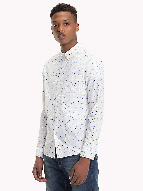 TOMMY JEANS Micro Print Regular Fit Shirt - ARROW DITSY - TOMMY JEANS Shirts - main image