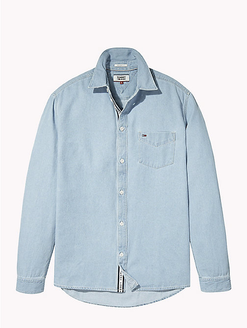 TOMMY JEANS Denim Shirt - LIGHT INDIGO - TOMMY JEANS Shirts - detail image 1