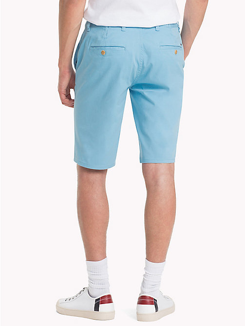TOMMY JEANS Essential Straight Leg Chino Shorts - AIR BLUE - TOMMY JEANS Trousers & Shorts - detail image 1