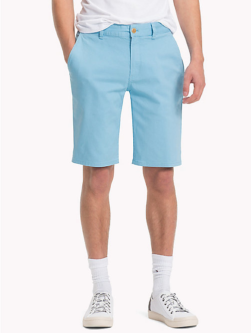 TOMMY JEANS Essential Straight Leg Chino Shorts - AIR BLUE - TOMMY JEANS Trousers & Shorts - main image