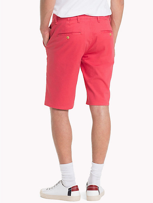 TOMMY JEANS Essential Straight Leg Chino Shorts - ROSE OF SHARON - TOMMY JEANS Trousers & Shorts - detail image 1