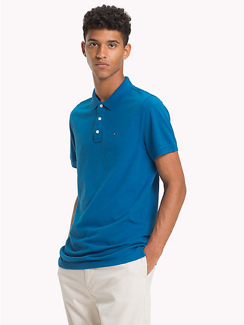 TOMMY JEANS Polo Essential - BLUE SAPPHIRE - TOMMY JEANS T-Shirts & Polos - immagine principale