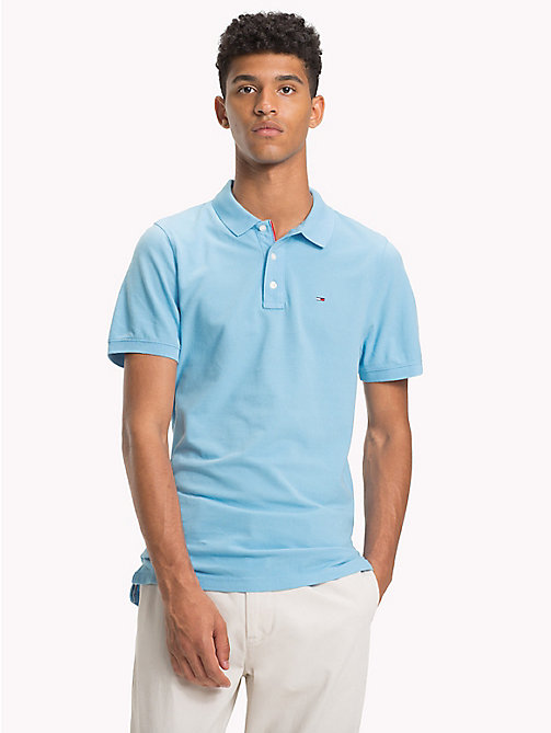 TOMMY JEANS Polo Essential - AIR BLUE - TOMMY JEANS T-Shirts & Polos - image principale