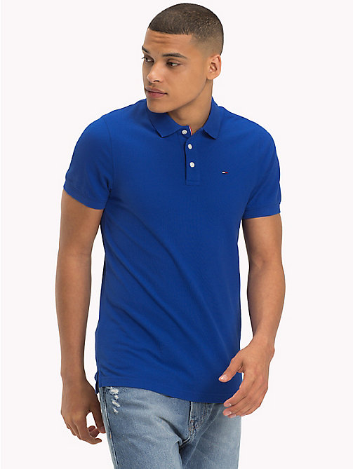 TOMMY JEANS Essential Polo Shirt - SURF THE WEB - TOMMY JEANS T-Shirts & Polos - main image