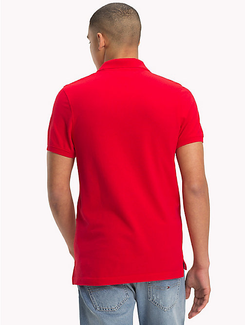 TOMMY JEANS Essential Polo Shirt - LOLLIPOP - TOMMY JEANS T-Shirts & Polos - detail image 1