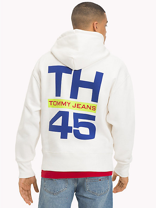 TOMMY JEANS Худи с логотипом в стиле 90-х - BRIGHT WHITE - TOMMY JEANS Capsule - подробное изображение 1