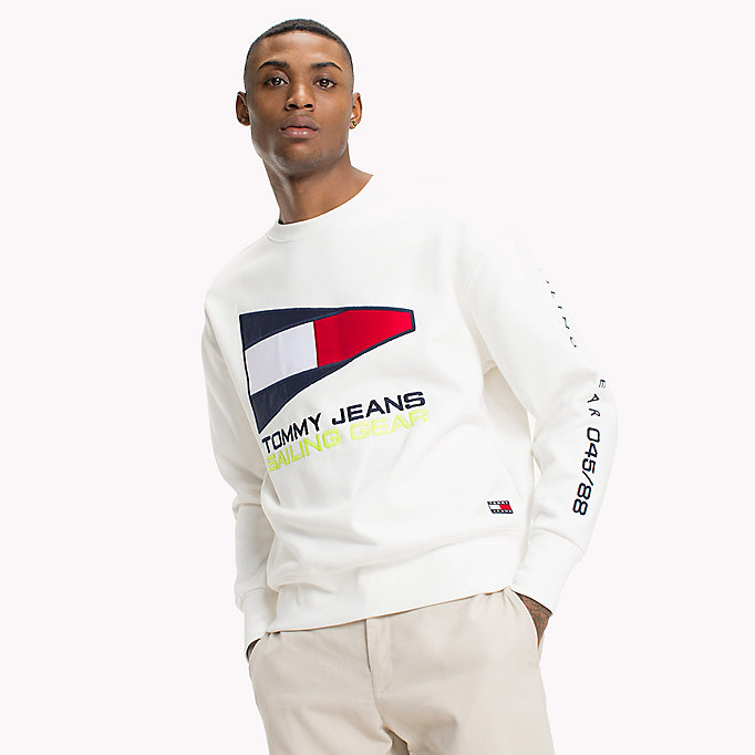 e0ba3d8b 90s Sailing Logo Sweatshirt | Tommy Hilfiger