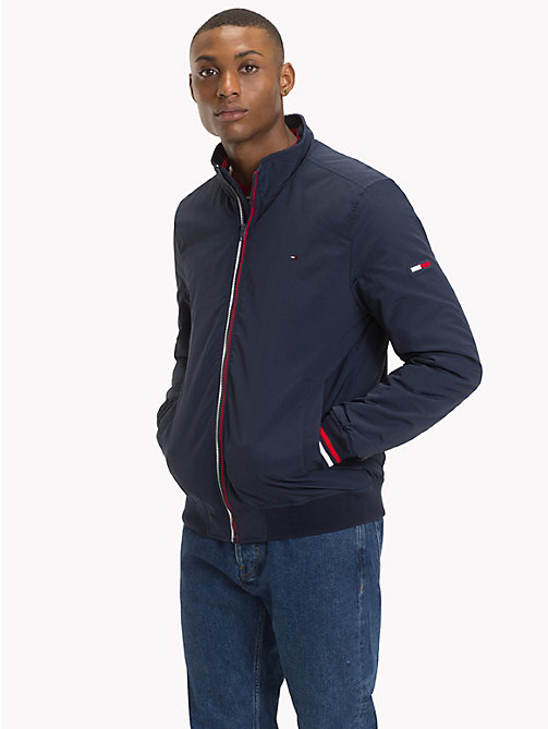 TOMMY JEANS Padded Bomber Jacket - BLACK IRIS - TOMMY JEANS Coats & Jackets - main image