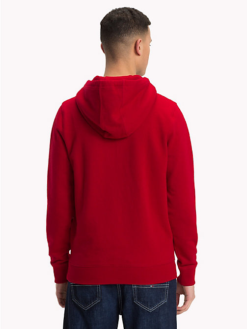 TOMMY JEANS Retro hoodie met grafisch logo - SAMBA - TOMMY JEANS Kleding - detail image 1