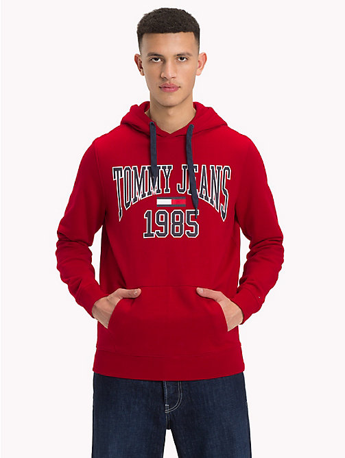 TOMMY JEANS Retro Graphic Hoody - SAMBA - TOMMY JEANS Sweatshirts & Hoodies - main image