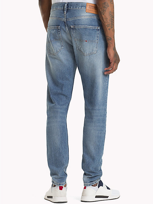 TOMMY JEANS TJ 1988 Tapered Fit Jeans - ORION MID BLUE RIGID - TOMMY JEANS Tapered Jeans - main image 1