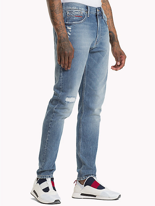 TOMMY JEANS TJ 1988 Tapered Fit Jeans - ORION MID BLUE RIGID - TOMMY JEANS Tapered Jeans - main image