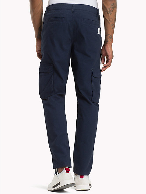 TOMMY JEANS Classic Fit Cargo Trousers - BLACK IRIS - TOMMY JEANS Trousers & Shorts - detail image 1