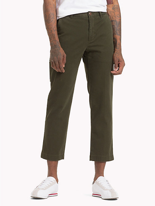 TOMMY JEANS Ankle Length Utility Trousers - ROSIN - TOMMY JEANS Black Friday Men - main image