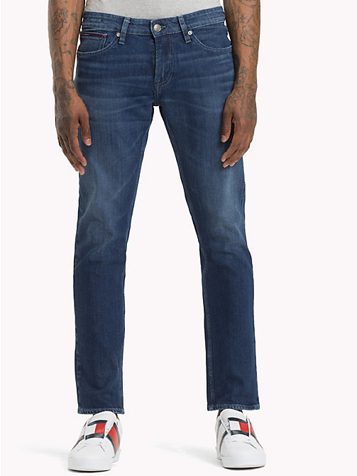 TOMMY JEANS Scanton Coolmax Classic Jeans - TJ COOL DK BLUE COM - TOMMY JEANS Clothing - main image