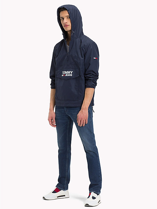TOMMY JEANS Anorak mit Kapuze - BLACK IRIS - TOMMY JEANS Sustainable Evolution - main image 1