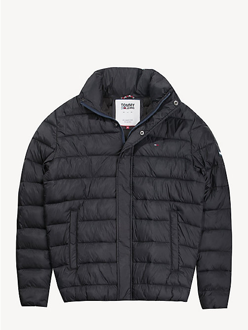 TOMMY JEANS Puffer-Jacke aus Recycling-Stoff - TOMMY BLACK - TOMMY JEANS Sustainable Evolution - main image 1