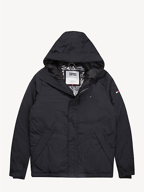 TOMMY JEANS Coated Velcro Jacket - TOMMY BLACK - TOMMY JEANS Coats & Jackets - detail image 1