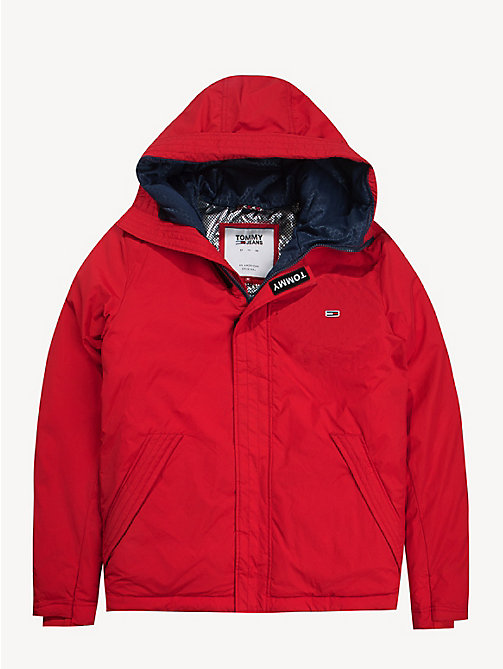TOMMY JEANS Coated Velcro Jacket - SAMBA - TOMMY JEANS Coats & Jackets - detail image 1