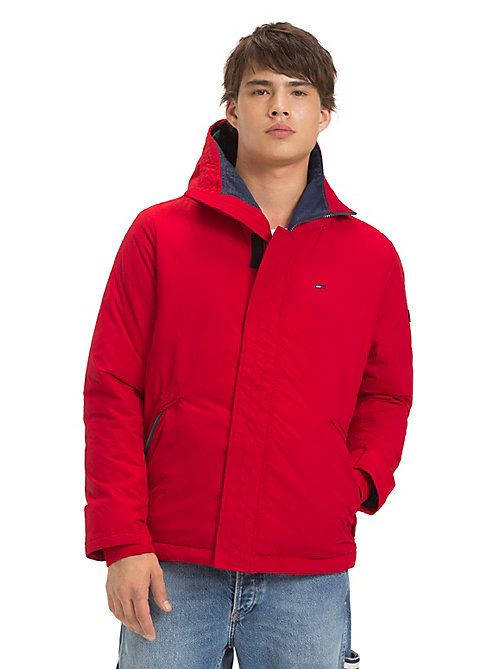 TOMMY JEANS Coated Velcro Jacket - SAMBA - TOMMY JEANS Coats & Jackets - main image