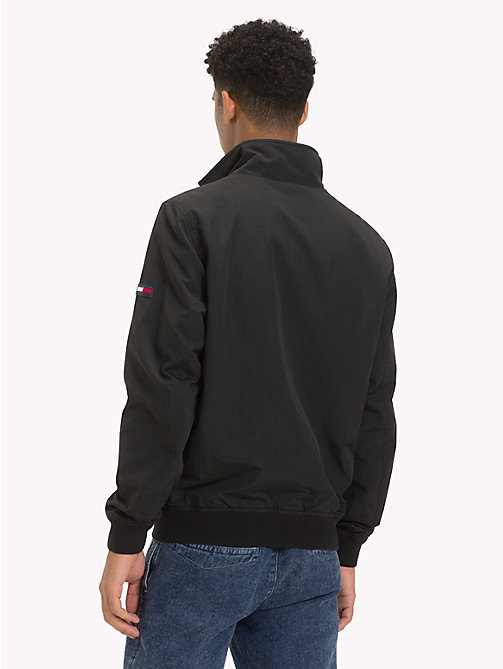 TOMMY JEANS Bomber in nylon riciclato - TOMMY BLACK - TOMMY JEANS Sustainable Evolution - dettaglio immagine 1