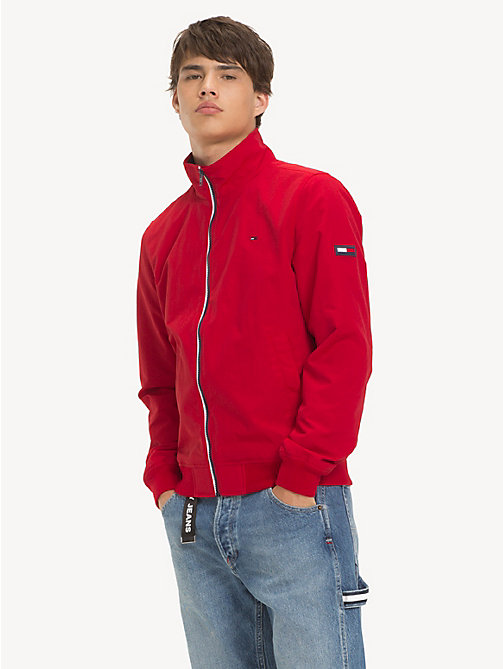TOMMY JEANS Recycled Nylon Bomber Jacket - SAMBA - TOMMY JEANS Sustainable Evolution - main image