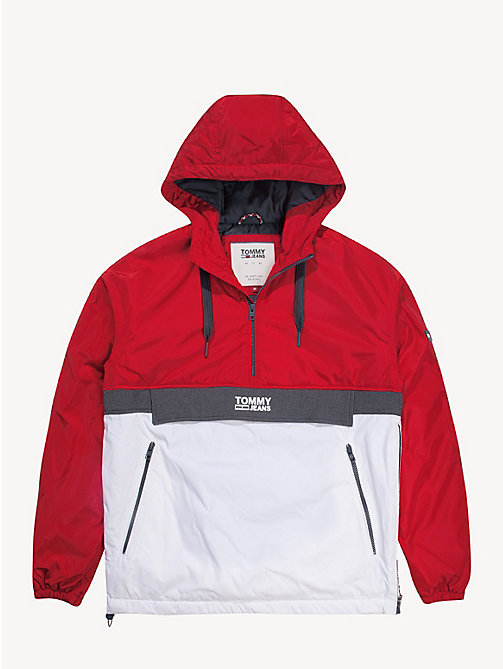 TOMMY JEANS Hooded Pullover Jacket - SAMBA MULTI - TOMMY JEANS Coats & Jackets - detail image 1