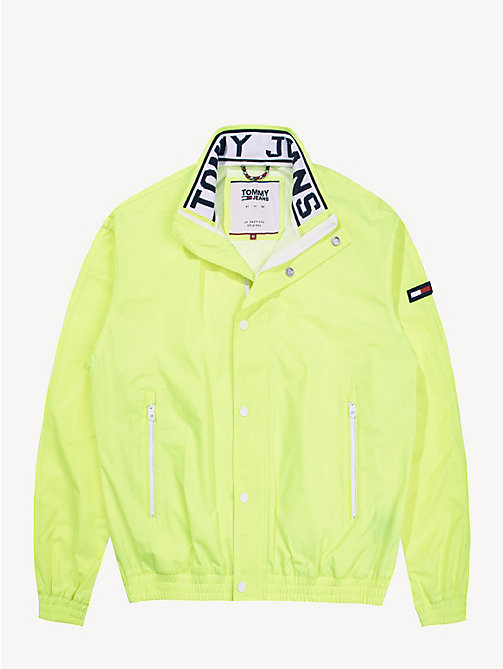TOMMY JEANS Mesh Trainer Jacket - SAFETY YELLOW - TOMMY JEANS Coats & Jackets - detail image 1